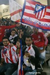 Hinchas egipcios del Atlético de Madrid / Mángel Sevilla. El Cairo