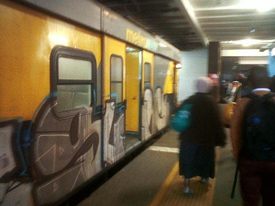 Estación de tren / Mángel Sevilla. Ciudad del Cabo, Sudáfrica