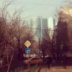 Nuevo Moscú desde Studencheskaya, Moscú