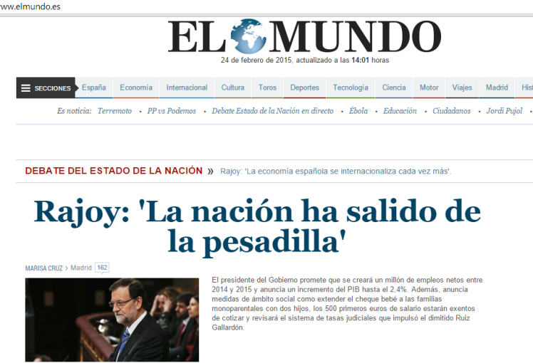 La nación ha salido de la crisis / www.elmundo.es