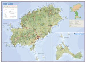 Mapa Ibiza / Triangle.cat