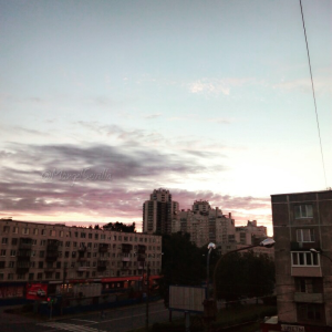 Noches blancas: el sol de medianoche / Mángel Sevilla. San Petersburgo, Rusia.