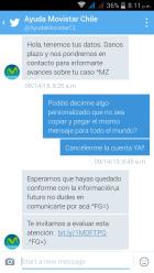 Me siento robado y engañado por Movistar Chile